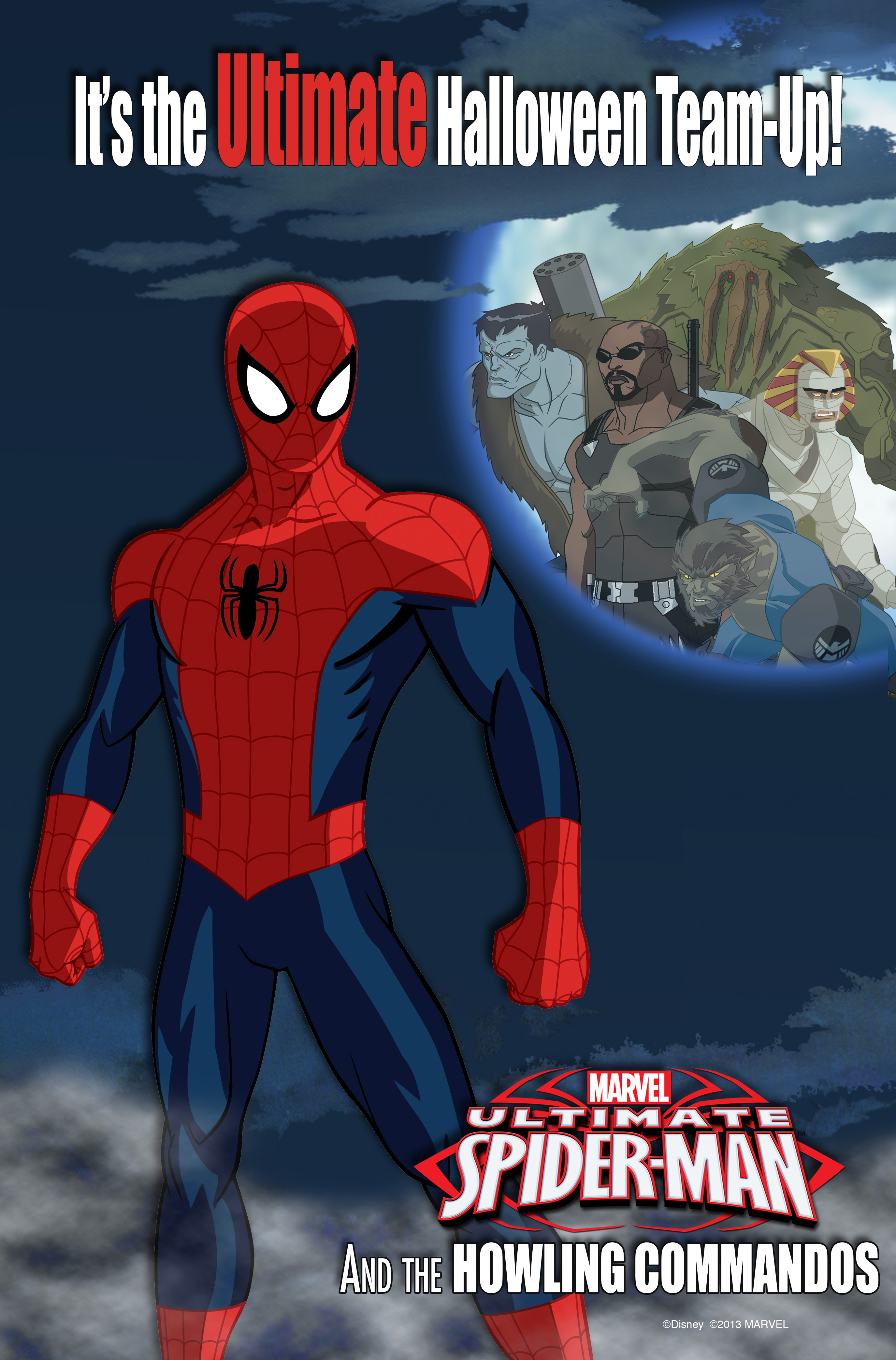 marvel's ultimate spider-man and the howling commandos to make