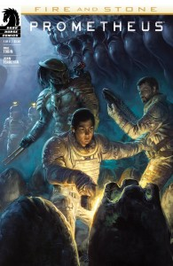 Prometheus Fire and Stone #1 Cover