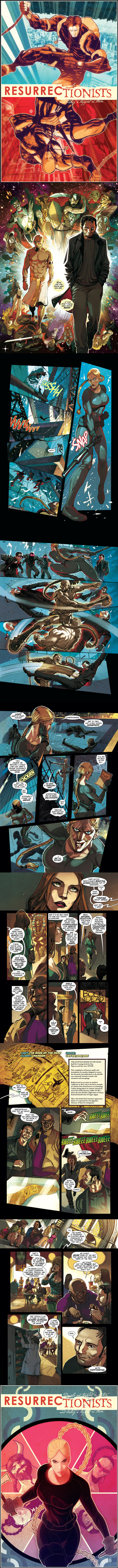 Resurrectionists #1 Preview