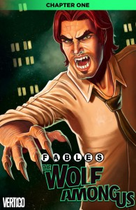 Fables The Wolf Among Us #1 cover art by Christina Anna Zullo