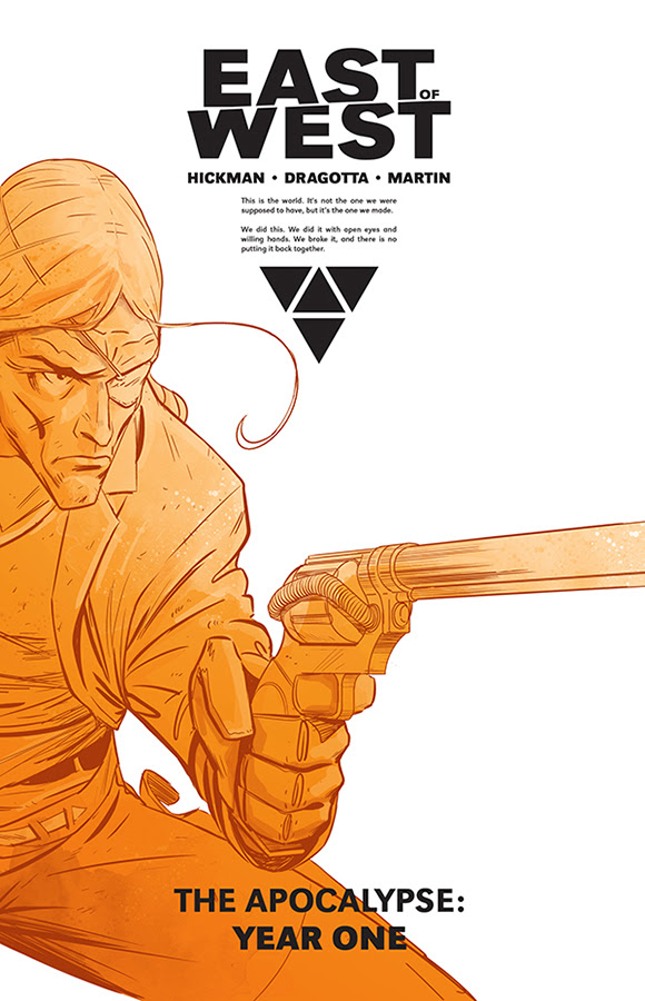 East Of West, The Apocalypse: Year One HC Cover by Nick Dragotta
