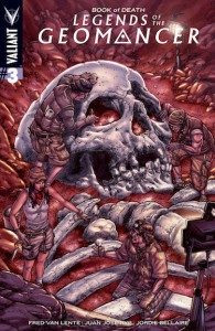 Book of Death Legends of the Geomancer #3 Valiant Entertainment