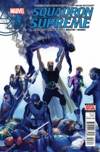Squadron Supreme #3 Marvel Comics