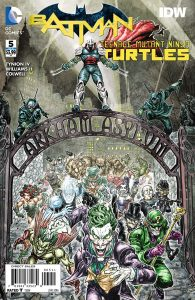 Batman\Teenage Mutant Ninja Turtles #5 DC/IDW