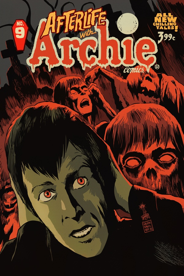 AFTERLIFE WITH ARCHIE #9 2nd Printing Variant Cover by Francesco Francavilla