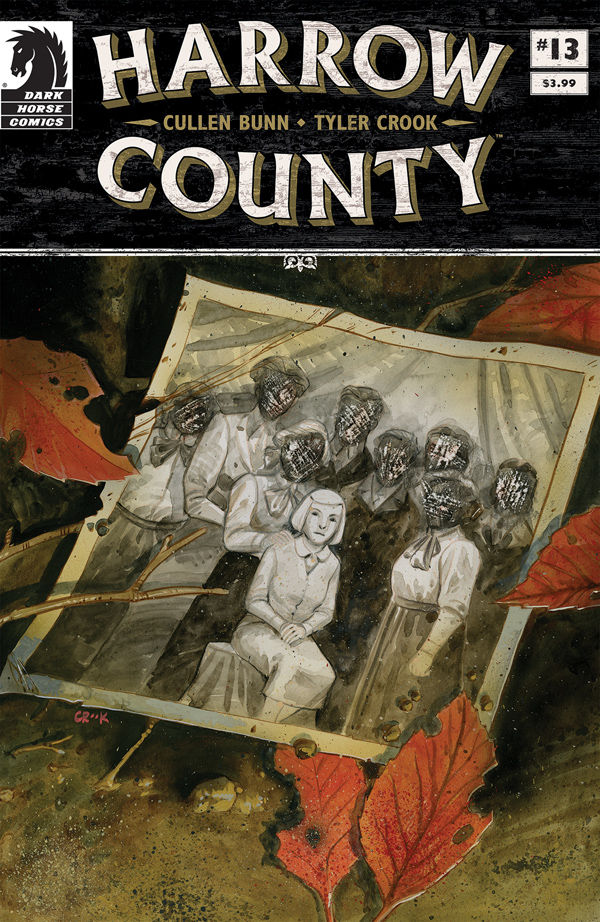Harrow County #13 Cover by Tyler Crook