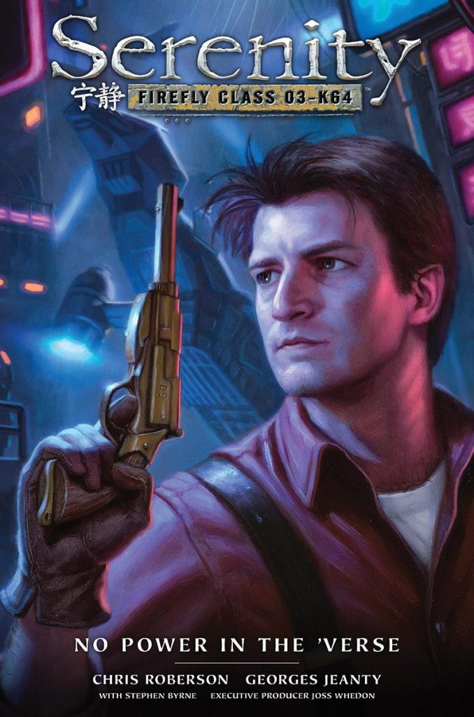Serenity: No Power in the 'Verse Art by Georges Jeanty