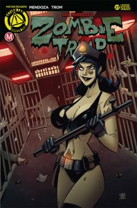 Zombie Tramp #27 Action Lab